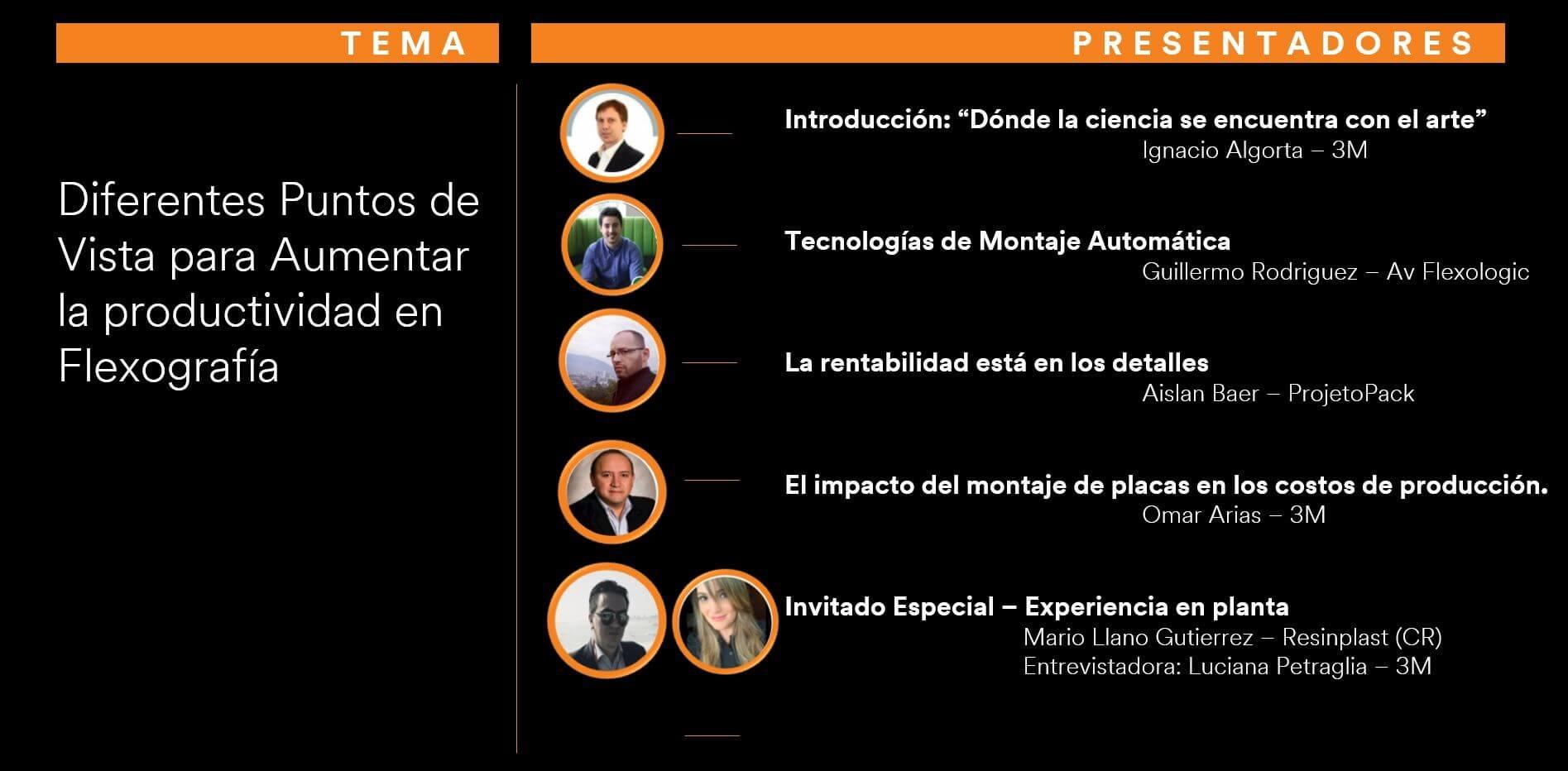 Seminário 3M e ProjetoPack