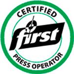 FTA FIRST - Certificação online para Impressores Flexográficos (banda larga, média ou estreita)
